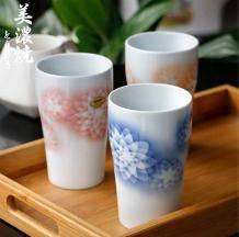 日本进口 ,Mino Yaki 美浓烧 家用陶瓷马克杯*3个59元包邮(需用码)