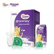 Synut 圣元 优博 布瑞弗尼 儿童配方牛奶 4段 200mL*6盒9.9元