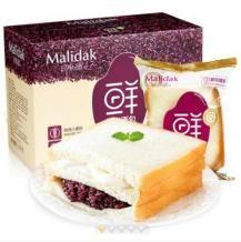 移动端: 玛呖德 紫米奶酪夹心面包 770g9.9元包邮(2人拼购)