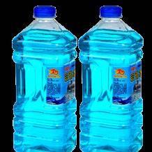 白菜价:百魅 BAIMEI 汽车玻璃水 0℃ 2L*2瓶6.9元包邮(需用券)
