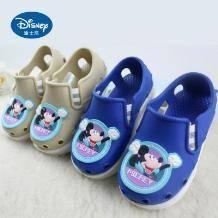 白菜!迪士尼 中小童软底凉鞋沙滩洞洞鞋 2色13元包邮(需用券)