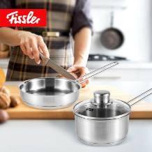 Fissler 德国菲仕乐 汤锅煎锅不锈钢套装
