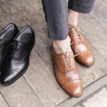 最后库存:严选 男子经典英伦商务皮鞋104元包邮,日常349元