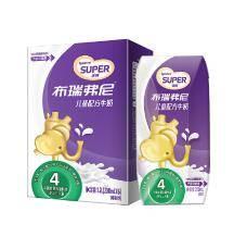 圣元 优博 布瑞弗尼 4段儿童配方牛奶 200ml*6盒9.9元包邮(2件起售)
