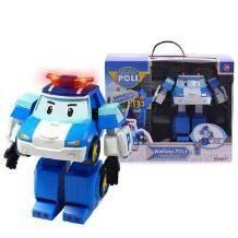 Silverlit 银辉 变形警车机器人 珀利遥控步行机器人 *3件707元包邮(需用券)