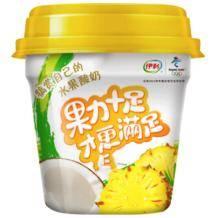 伊利 大果粒 菠萝+椰子风味发酵乳 酸奶 260g *36件130元(双重优惠,合3.61元/件)