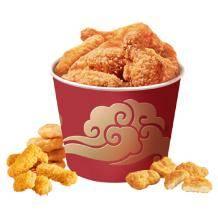 抓紧下:凤祥食品 炸鸡套装半成菜 分享桶 1.9kg装    34.9元/桶(双重满减后)