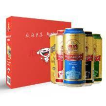 手慢无!凯尔特人(Barbarossa)啤酒礼盒 500ml*8听9.9元(限购1件)