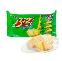 限地区:康师傅 饼干 3+2苏打夹心 分享装 500g9.9元包邮