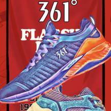 神价格:361° 天猫旗舰店 男士跑鞋 8双196元包邮(多重优惠)