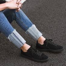 暴力清仓:严选 男士反绒皮滑板鞋59元/双(龙支付立减后),长期240元