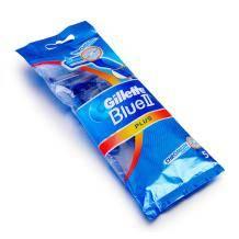 限移动端:Gillette 吉列 Blue2 Plus 旅行装手动剃须刀5支装29.9元包邮(2人拼购)