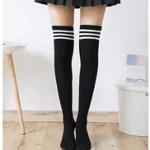 格格玛 女士过膝长筒袜 3双装 16.9元(需用券)