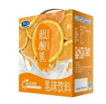 君乐宝 甜橙味乳味饮料 250ml*12盒13.9元