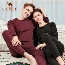 Camel 骆驼 男女士保暖内衣套装