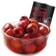 芝麻官 糖水山楂罐头425g*5罐24.8元包邮(需用券)