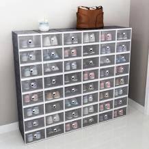 正浦 透明收纳鞋盒 29*20.5*12cm 8个装24.9元包邮(需用券)
