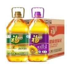 10点开始:福临门 黄金产地(玉米油3.68L+葵花籽油3.68L) *2件    104.85元包邮(前2小时)