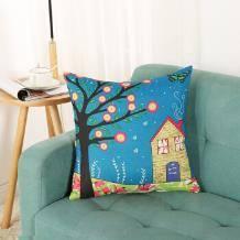 米优米卡 卡通抱枕(枕芯+枕套) 40*40cm9.9元包邮(需用券)