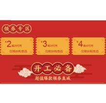优惠券:京东商城 拼购券满29-2/满39-3/满49-4