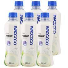 INNOCOCO 一诺可可 天然椰子水350ml*6瓶19.9元包邮(需用券)