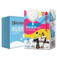 Lacheer 兰雀 常温原味酸奶 200g*24盒 *2件