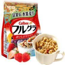 Calbee 卡乐比 北海道产富果乐水果麦片 700g *2件