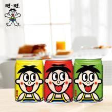 旺旺 旺仔多口味牛奶 245ml*12罐装    45元包邮(需用券)