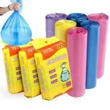 名羽 家用一次性彩色垃圾袋 100只 4.9元包邮(需用券)