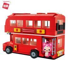 移动端:ENLIGHTEN 启蒙 阿狸系列 3904 环城双层巴士 89元包邮(需2人拼团)