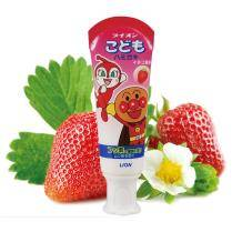 移动端:LION 狮王 面包超人 酵素儿童护理牙膏 40g 草莓味9.9元包邮(2人拼团)