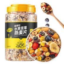 福事多 坚果水果麦片 1kg 23.5元包邮(需用券)