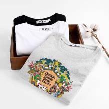 雅鹿 男士纯棉T恤 多款可选 19.9元包邮(需用券)