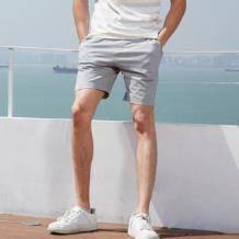 MAXWIN马威 19182173001 男式素色沙滩裤