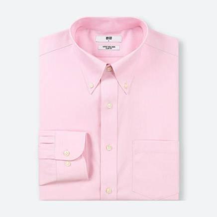 UNIQLO 优衣库 409275 高性能修身防皱衬衫 39元,仅限门店自提