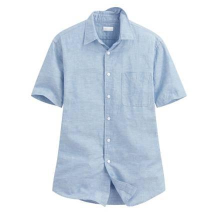Lativ 诚衣 男子麻棉衬衫 75元