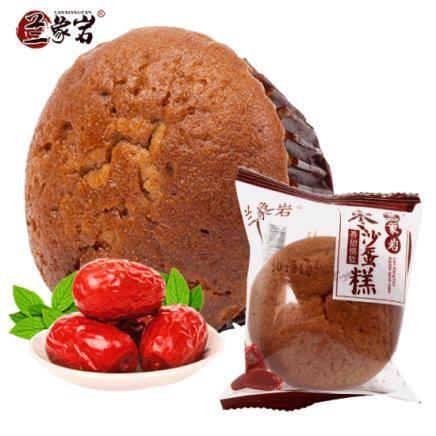 兰象岩 枣沙蛋糕 500g*2件    10.6元包邮(双重优惠)