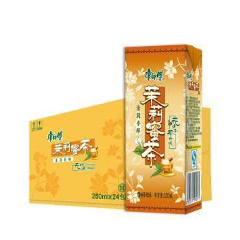 限地区:康师傅 茉莉蜜茶 250ml*24盒21.8元