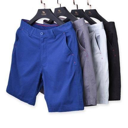 慢友19点抵现红包专享:Vstarry 男子夏季棉质中裤31元包邮(双重优惠后),限量400份