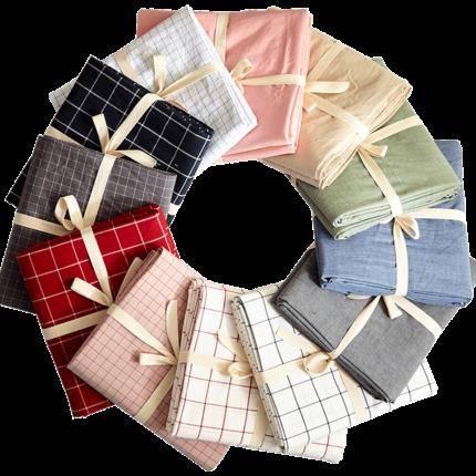 慢友22日淘礼金专享:【爱诺家纺】水洗棉单人床 床单 被单 160*240cm    15.99元包邮,限量500件