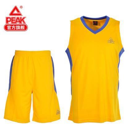 移动专享、白菜价: PEAK 匹克 F762081 男子篮球服套装 19元包邮(需用券)