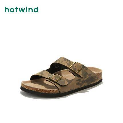 hotwind 热风 H60M9205 男士休闲拖鞋 48元包邮