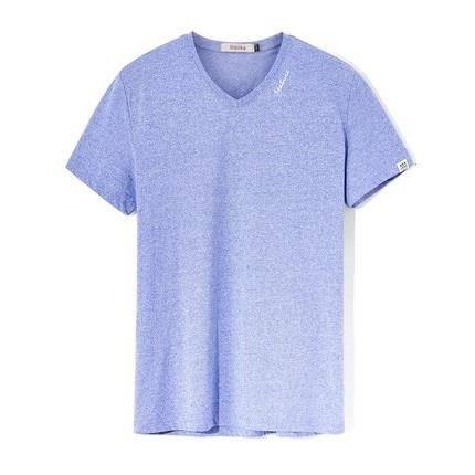 少量库存:海一家 男士夏季V领T恤