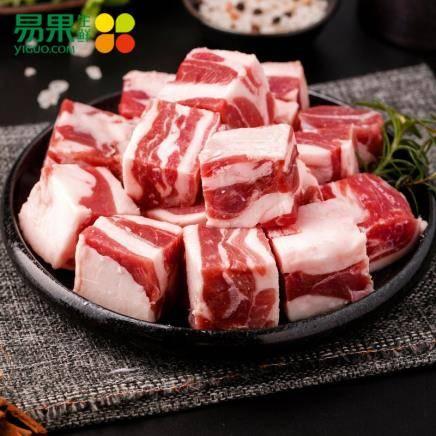 易果生鲜 原膳内蒙古羊腩块 500g *5件