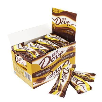 Dove 德芙 丝滑牛奶巧克力 224g