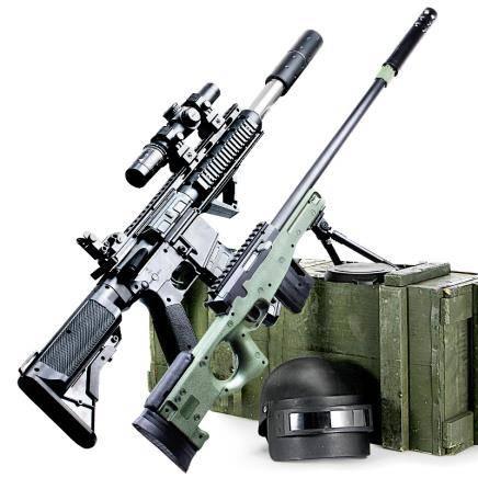 怀乐 AWM水弹枪 80cm 赠八倍镜+水弹