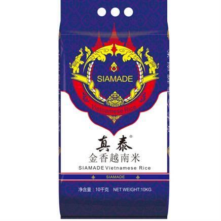 真泰牌(SIAMADE)真 泰金香 长粒香 越南米10KG*4件146.61元(双重优惠,合36.65元/件)