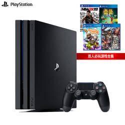 SONY 索尼 PS4 Pro(PS4)游戏机 国行 赠2K19、雷曼、小小大星球、三国无双 2799元包邮
