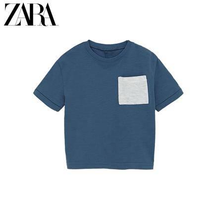 ZARA 男婴幼童 带口袋基本款 T 恤