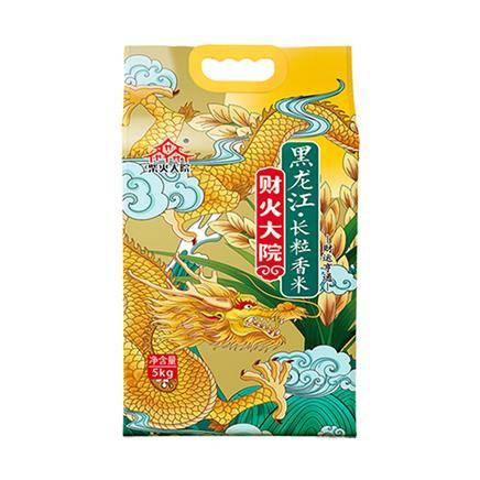 10点:柴火大院 黑龙江长粒香米 5kg*3件
